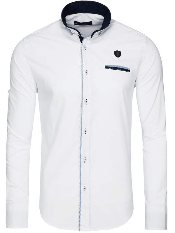 9efcab8fc8 Vonzó fehér férfi ing RAW LUCCI 526-10 - Dressing.hu