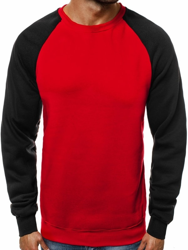 Piros pulcsi OZONEE JS TX07 - Dressing.hu 7713366c19